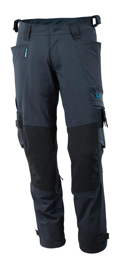 MASCOT® ADVANCED - donkermarine - Werkbroek met Dyneema®-kniezakken, 4 way stretch, lichtgewicht