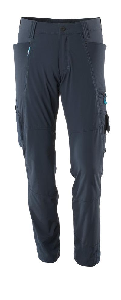 MASCOT® ADVANCED - donkermarine - Werkbroek, 4 way stretch, lichtgewicht