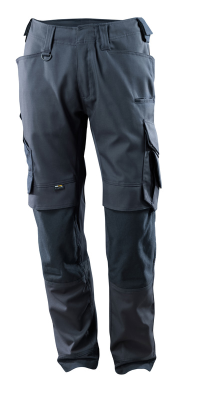 MASCOT® Adra - donkermarine - Werkbroek met CORDURA®-kniezakken, stretch-panelen, hoge slijtvastheid