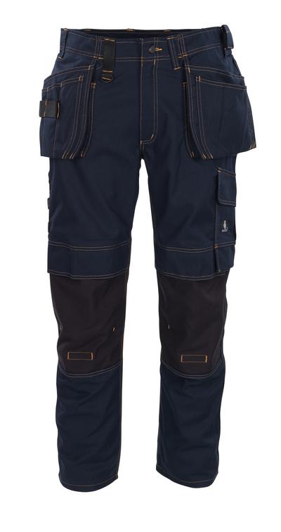 MASCOT® Almada - donkermarine - Werkbroek met CORDURA®-kniezakken en spijkerzakken, hoge slijtvastheid
