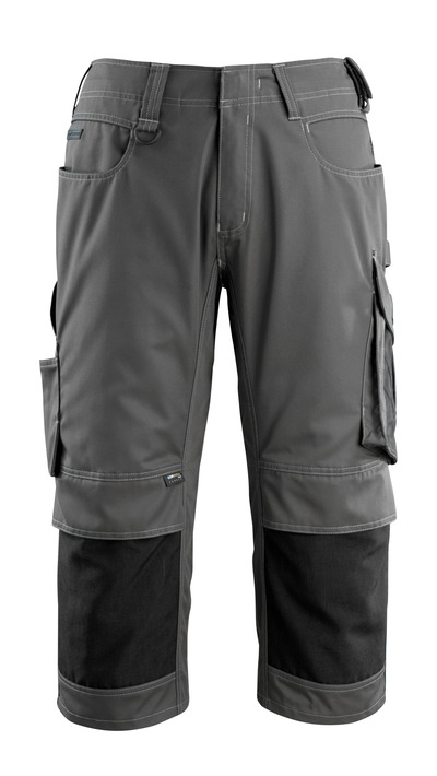 MASCOT® Altona - donkerantraciet/zwart - Driekwart broek