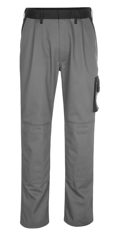 MASCOT® Ancona - antraciet/zwart - Werkbroek met kniezakken, lichtgewicht