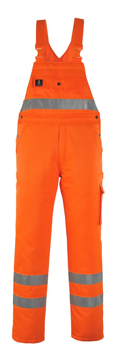 MASCOT® Antarktis - hi-vis oranje* - Amerikaanse winteroverall met gewatteerde voering, waterafstotend, klasse 2/2
