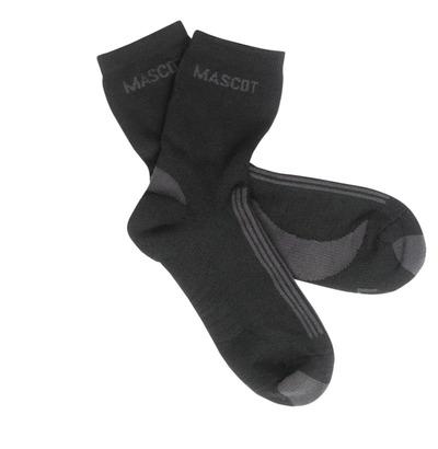 MASCOT® Asmara - zwart/donkerantraciet - Sokken, vochtregulerend