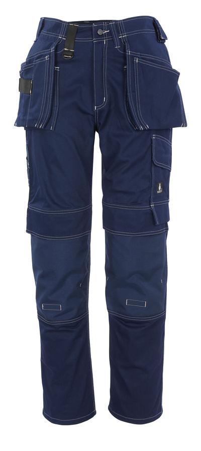 MASCOT® Atlanta - marine - Werkbroek met CORDURA®-knie- en spijkerzakken, katoen
