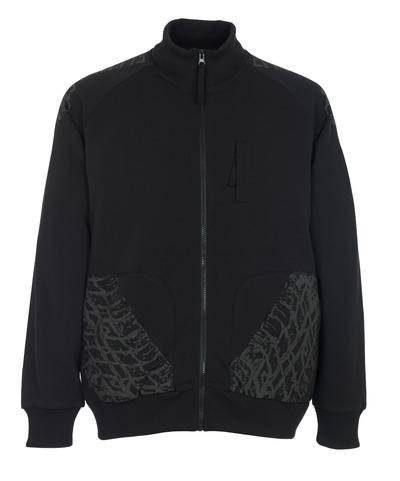 MASCOT® Belfort - zwart* - Sweatshirt met rits