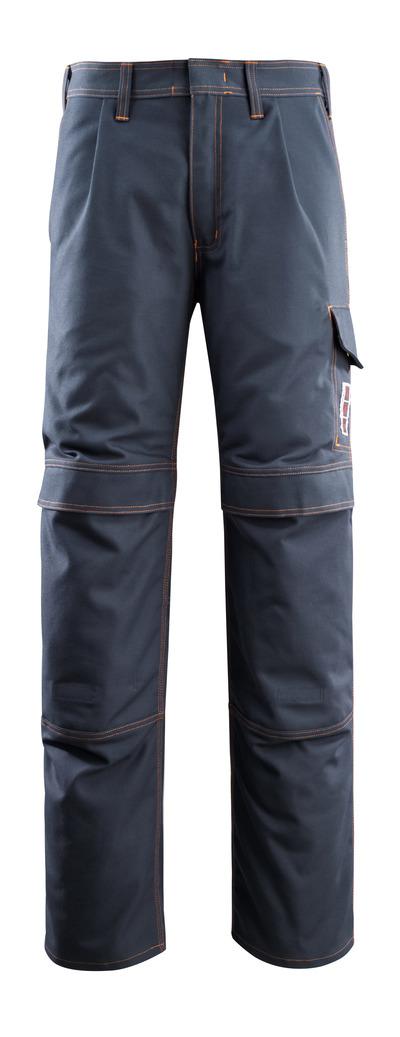 MASCOT® Bex - donkermarine - Werkbroek met kniezakken, meervoudige bescherming
