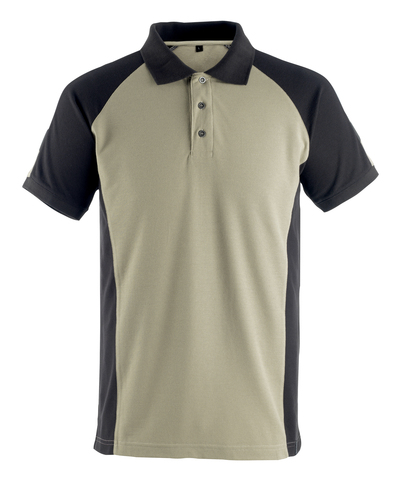 MASCOT® Bottrop - lichtkhaki/zwart* - Poloshirt