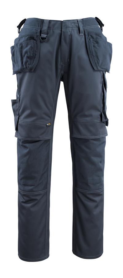 MASCOT® Bremen - donkermarine - Werkbroek met CORDURA®-knie- en spijkerzakken, hoge slijtvastheid