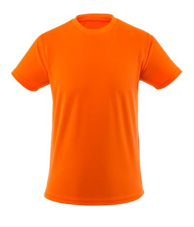 MASCOT® Calais - hi-vis oranje - T-shirt, Hi-Vis, lichtgewicht, moderne pasvorm