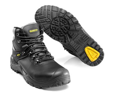 MASCOT® Elbrus - zwart/geel - Veiligheidslaarzen S3 met veters