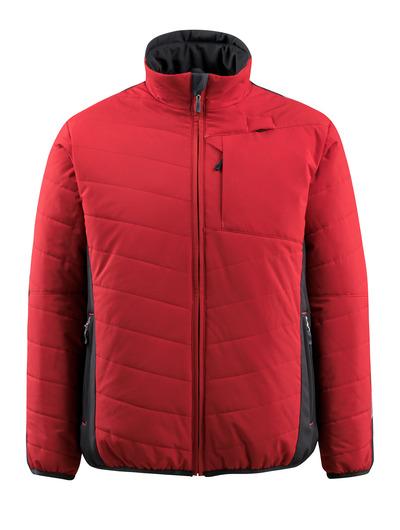 MASCOT® Erding - rood/zwart - Jack met voering, waterafstotend, hoog isolerend vermogen