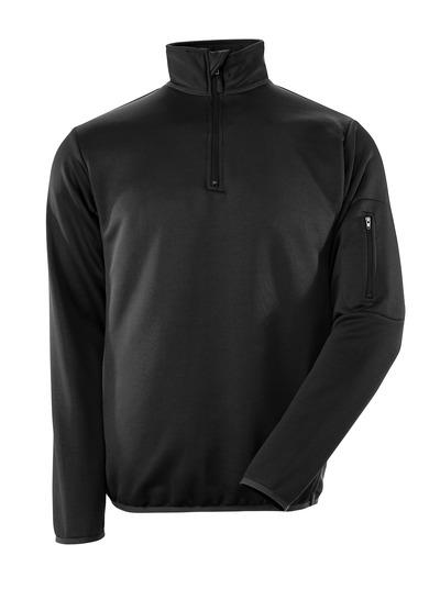 MASCOT® Estela - zwart/donkerantraciet - Polosweatshirt