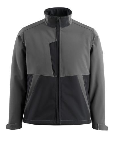 MASCOT® Finley - donkerantraciet/zwart - Softshelljack met fleece aan de binnenkant