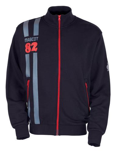 MASCOT® Fundao - donkermarine* - Sweatshirt met rits