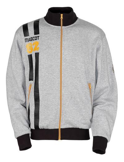 MASCOT® Fundao - grijs-melêe* - Sweatshirt met ritssluiting