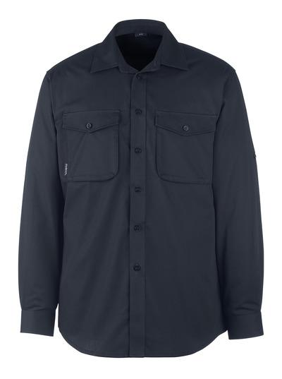MASCOT® Greenwood - donkermarine - Overhemd, moderne pasvorm