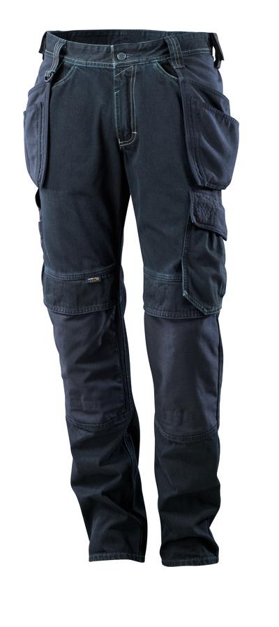 MASCOT® HARDWEAR - donkerblauw denim - Jeans met spijkerzakken, extra slijtvast