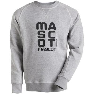 MASCOT® HARDWEAR - grijs-melêe* - Sweatshirt geborduurd met MASCOT, moderne pasvorm