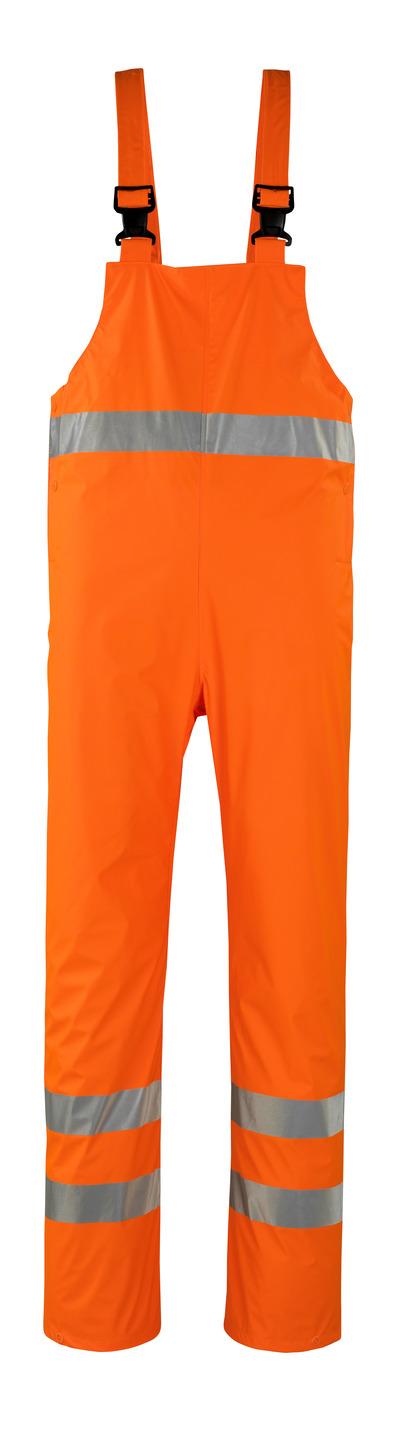 MASCOT® Hartberg - hi-vis oranje* - Regenoverall, wind- en waterdicht, klasse 2
