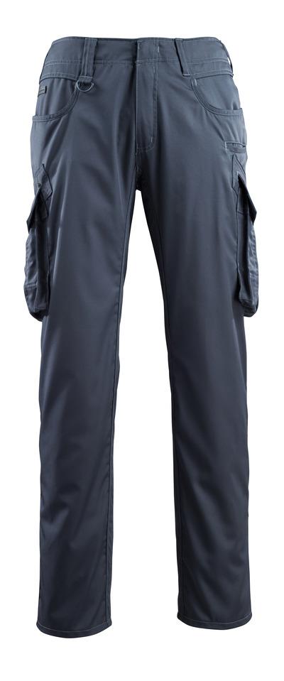 MASCOT® Ingolstadt - donkermarine - Broek met dijbeenzakken, extra lichtgewicht