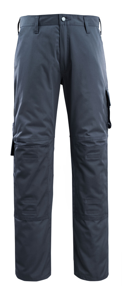 MACMICHAEL® Jardim - donkermarine - Werkbroek met kniezakken, lichtgewicht