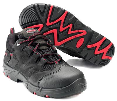 MASCOT® Kilimanjaro - zwart/rood - Veiligheidsschoenen S3 met veters