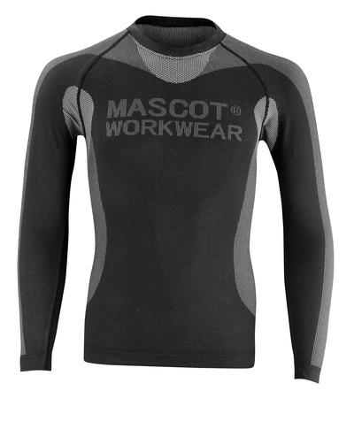 MASCOT® Lahti - zwart - Functioneel hemd, lichtgewicht, isolerend