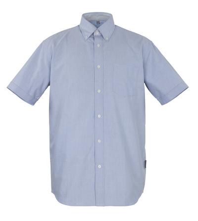 MASCOT® Lamia - oxford blauw* - Overhemd, met korte mouwen