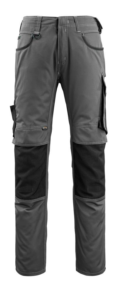 MASCOT® Lemberg - donkerantraciet/zwart - Werkbroek met CORDURA®-kniezakken, extra lichtgewicht