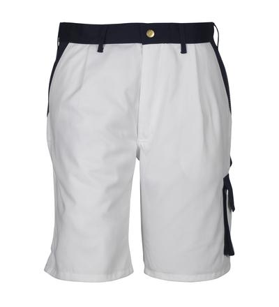 MASCOT® Lido - wit/marine*/¹) - Shorts, hoge slijtvastheid