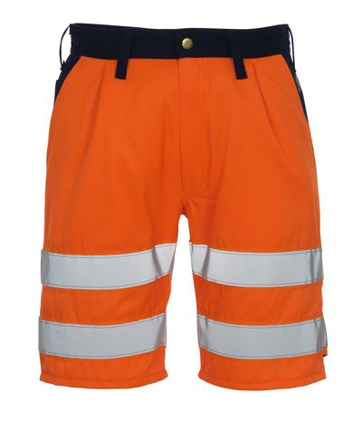 MASCOT® Lido - hi-vis oranje/marine* - Shorts, klasse 1/2