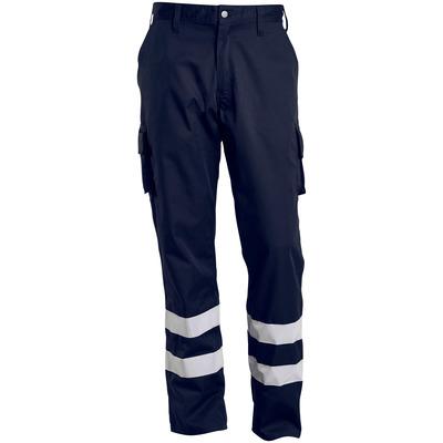 MACMICHAEL® MacMichael - donkermarine - Broek met dijbeenzakken, reflectieband, lichtgewicht