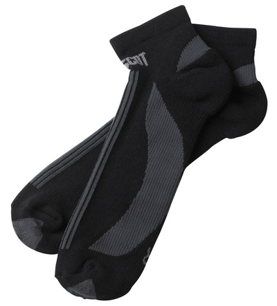 MASCOT® Maseru - zwart/donkerantraciet - Sokken, kort model, vochtregulerend