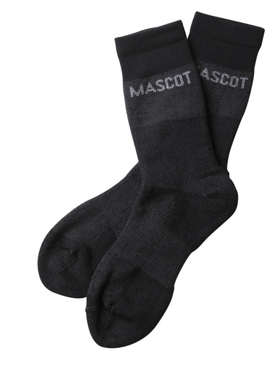 MASCOT® Moshi - donkergrijs-melêe - Sokken, vochtregulerend