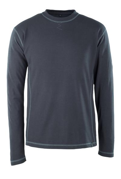 MASCOT® Muri - donkermarine - T-shirt, met lange mouwen, meervoudige bescherming, moderne pasvorm