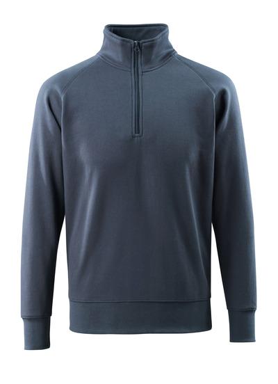 MASCOT® Nantes - donkermarine - Sweatshirt met korte rits, moderne pasvorm