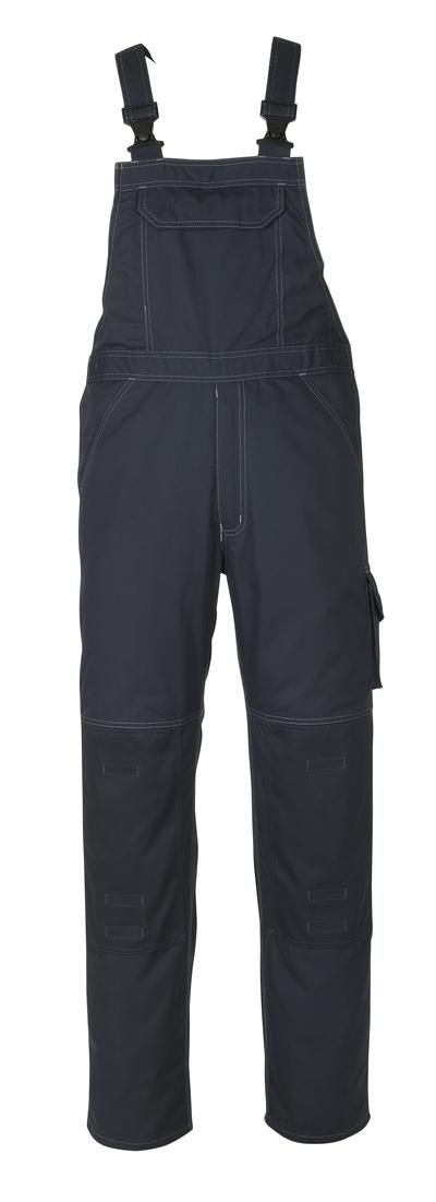 MASCOT® Newark - donkermarine - Amerikaanse overall met kniezakken, lichtgewicht