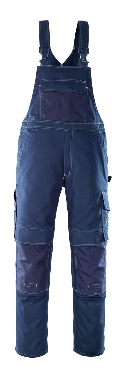 MASCOT® Orense - marine - Amerikaanse overall met kniezakken, hoge slijtvastheid