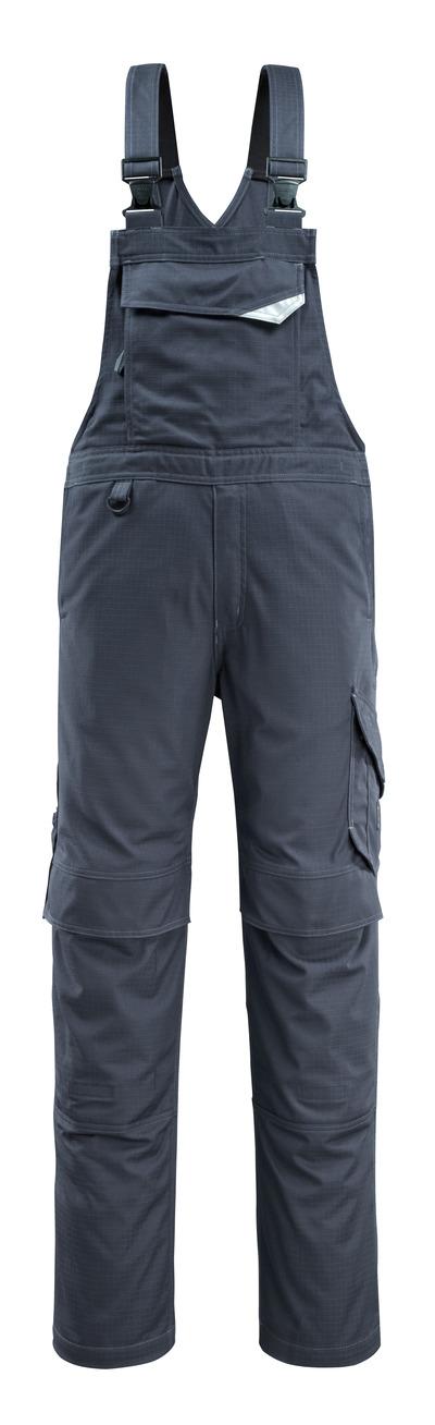 MASCOT® Oron - donkermarine - Amerikaanse overall met kniezakken, vuilafstotend, meervoudige bescherming
