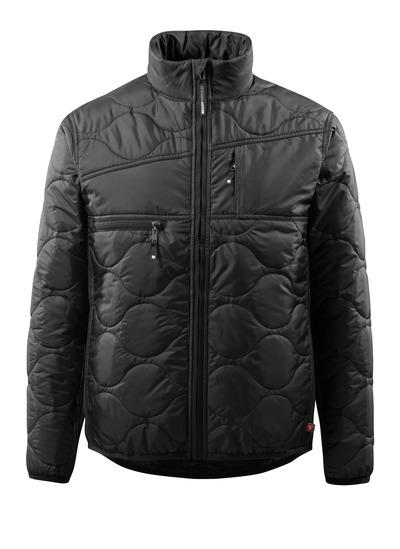 MASCOT® Palencia - zwart - Jas met voering, hoge kraag en groot isolerend vermogen