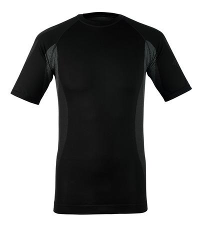 MASCOT® Pavia - donkerantraciet - Functioneel hemd, met korte mouwen, lichtgewicht, vochtregulerend