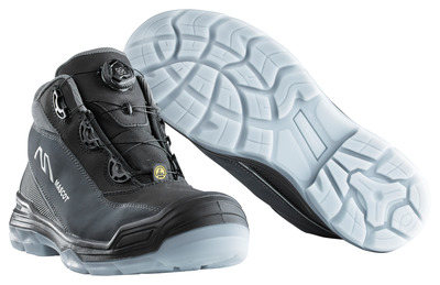 MASCOT® Petros - zwart/antraciet* - Veiligheidslaarzen S3 met Boa®-sluiting