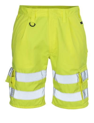 MASCOT® Pisa - hi-vis geel - Shorts, klasse 1