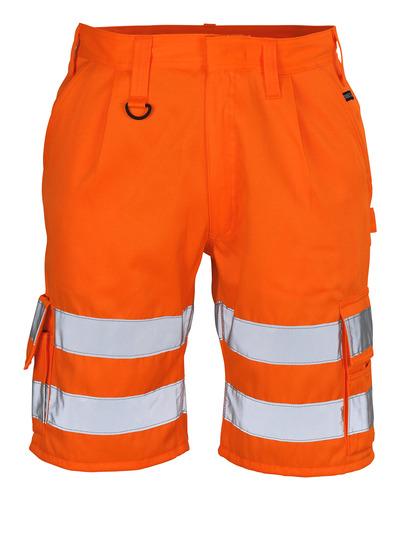 MASCOT® Pisa - hi-vis oranje - Shorts, klasse 1