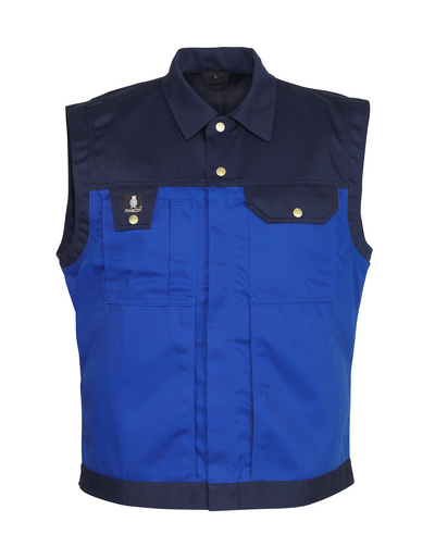 MASCOT® Prato - korenblauw/marine - Bodywarmer, hoge slijtvastheid