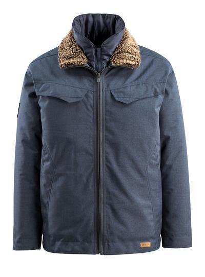 MASCOT® Queens - indigo denimblauw - Winterjack, gewatteerd, waterafstotend materiaal