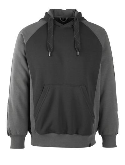 MASCOT® Regensburg - zwart/donkerantraciet* - Hooded sweatshirt