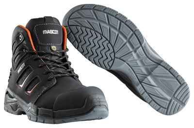 MASCOT® Rimo - zwart/donkeroranje - Veiligheidslaarzen S3 met veters