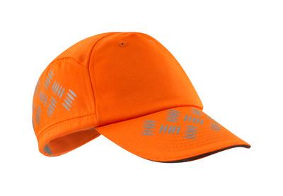 MASCOT® Ripon - hi-vis oranje - Pet met ventilatiegaten, verstelbaar, reflectie-effecten